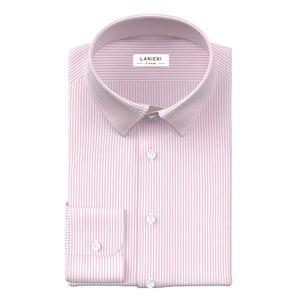 Camicia Rosa a Righe