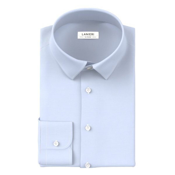 Chemise Ibieffe Four Seasons Solid Light Blue