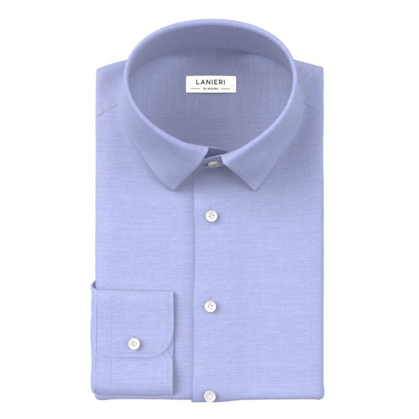 Shirt Ibieffe Four Seasons Solid Light Blue