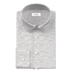 Camicia Puro Lino Grigia