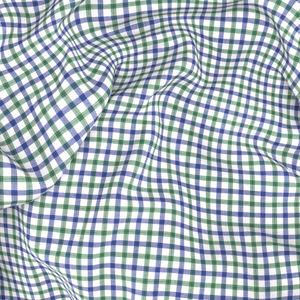 Camicia Blu Verde a Quadri