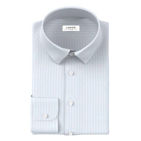 Camicia Albini Quattro Stagioni Spigato Azzurro