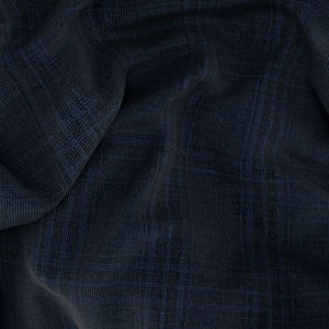 Suit Blue Melange Check