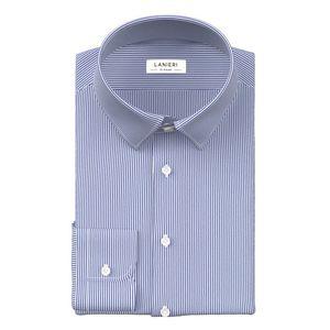 Camicia Blu a Righe