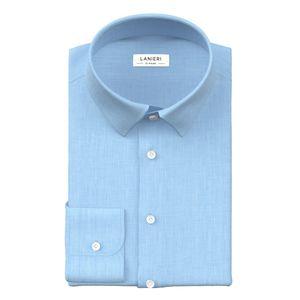 Camicia Verde Fil-à-fil