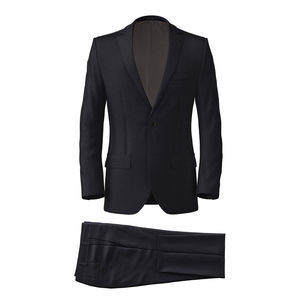 Suit Midnight Blue Micro Dots