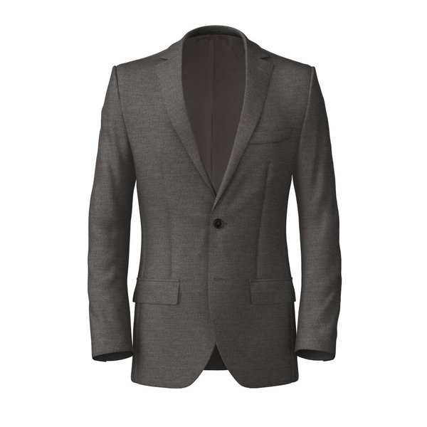 Jacket Reda Four Seasons Solid Light Grey