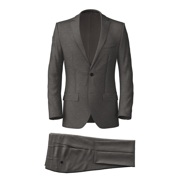 Suit Reda Four Seasons Solid Light Grey