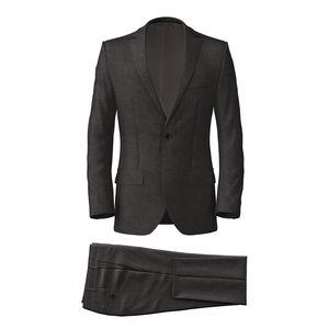 Suit Grey Birdseye