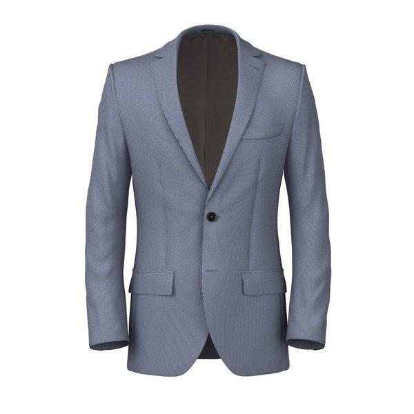 Jacket Reda Spring/Summer Microdesign Light Blue