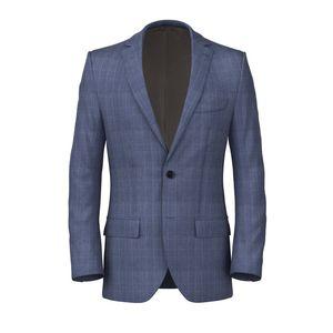 Jacket Light Blue Prince of Wales