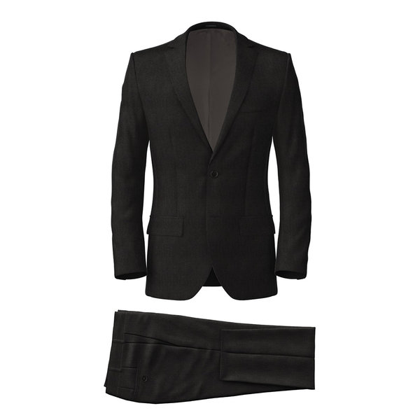 Suit Reda Four Seasons Microdesign Black