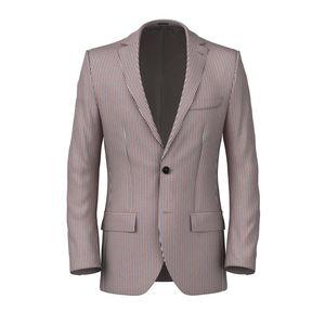 Jacket Seersucker Capri