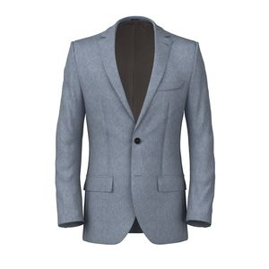Jacket Denim Cotton Silk
