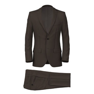 Suit Brown Twill