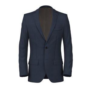 Jacket Denim Blue Prince of Wales