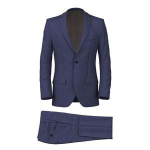 Suit Blu Gabardine