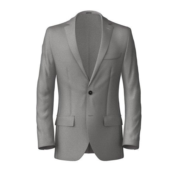 Blazer Tallia Delfino Four Seasons Solid Light Grey