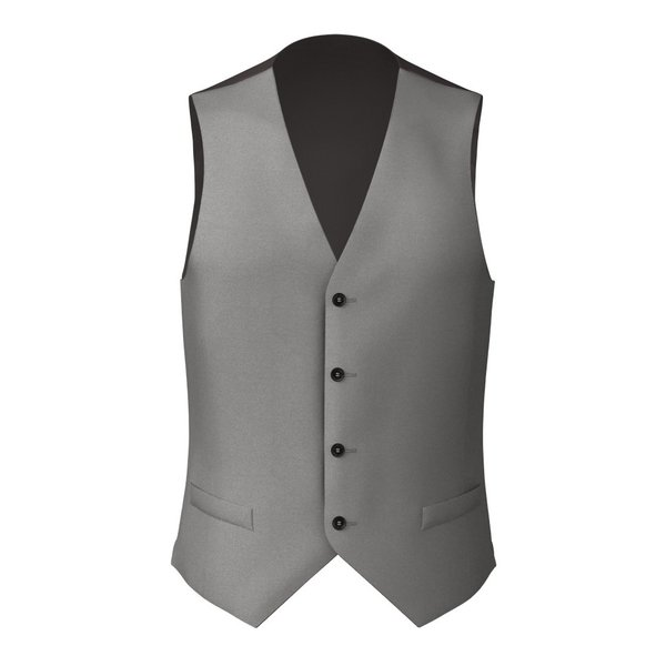 Waistcoat Tallia Delfino Four Seasons Solid Light Grey