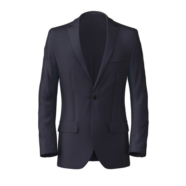 Blazer Tallia Delfino Four Seasons Solid Dark blue