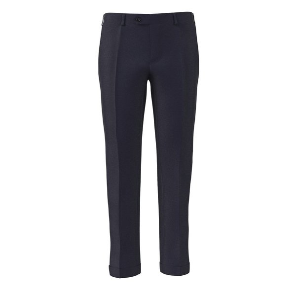 Trousers Tallia Delfino Four Seasons Solid Dark blue