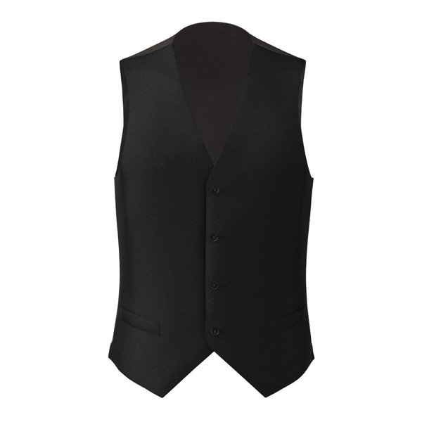 Waistcoat Tallia Delfino Four Seasons Solid Black