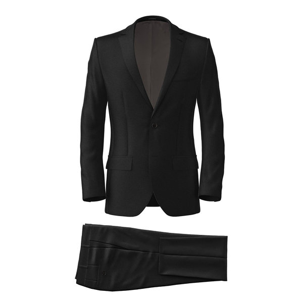 Suit Tallia Delfino Four Seasons Solid Black