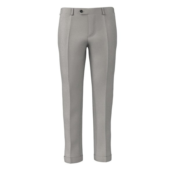 Trousers Tallia Delfino Four Seasons Solid Light Grey