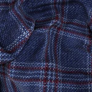 Blazer Lana Canapa Blu Finestrato