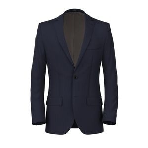 Jacket Blue Check