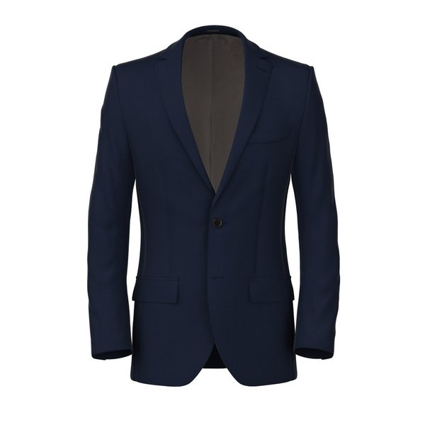 Jacket Vitale Barberis Canonico Spring/Summer Solid Blue