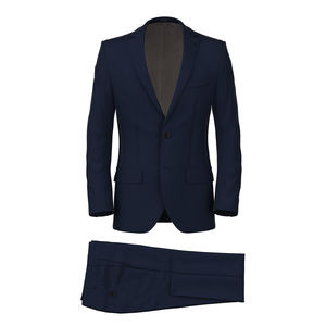 Suit Icon Navy Blue