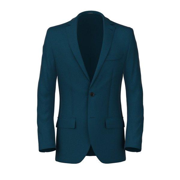 Blazer Vitale Barberis Canonico Quattro Stagioni Hopsack Blu scuro