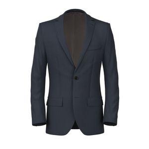Jacket Blue Macro Stripe