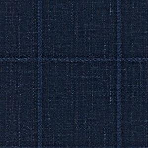 Blazer Lino Seta Blu Quadri