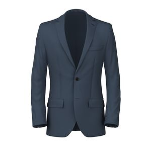Blazer Twill Blu Polvere