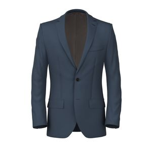 Jacket Blue Powder Twill