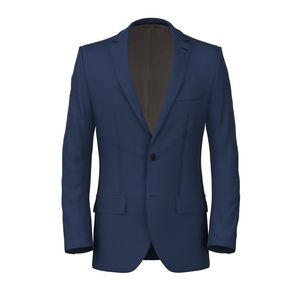 Jacket Electric Blue Twill