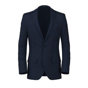 Blazer Blu Gessato