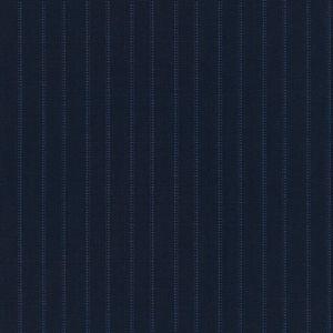 Giacca Blu Gessato