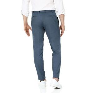 Pantaloni chino Petrolio