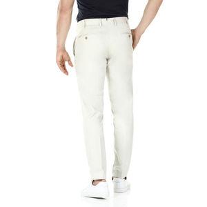 Pantaloni chino Sabbia Tessuto prodotto da  Tessuti di Sondrio