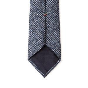 Cravatta Azzurra Flanella Tessuto prodotto da  Tallia Delfino