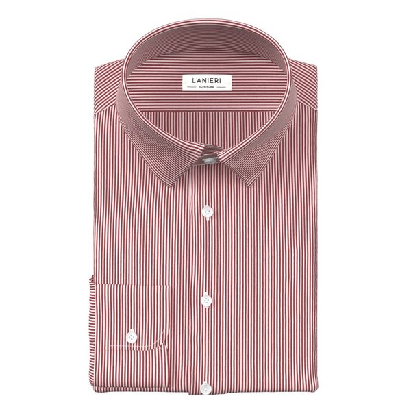 Shirt Canclini Four Seasons Striped Red