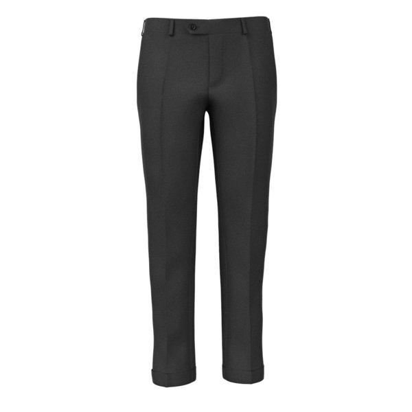 Pantalon Super 180's Gris Tissu fabriqué par  Drago
