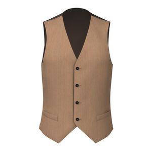 Riviera Khaki Waistcoat Fabric produced by  Drago