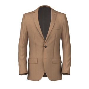 Riviera Khaki Jacket Fabric produced by  Drago