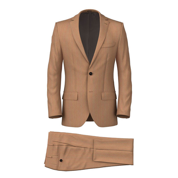 Suit Drago Spring/Summer Twill Brown