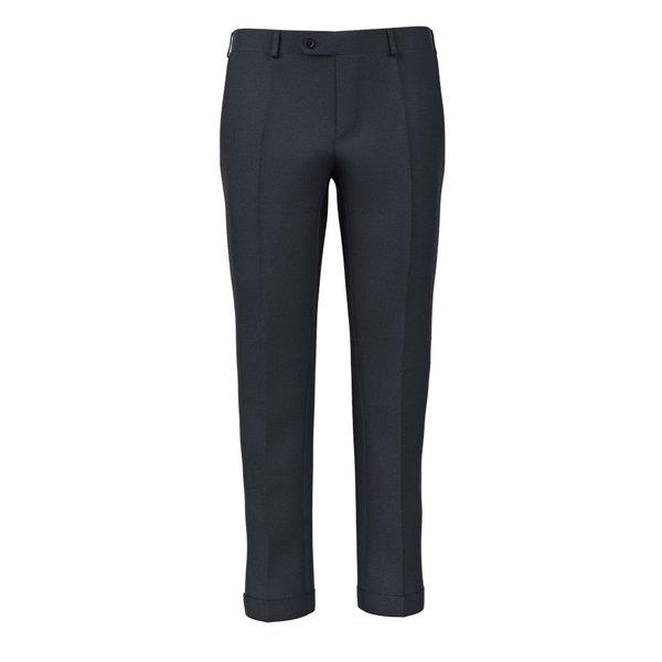 Pantaloni Blu Principe di Galles Flanella Tessuto prodotto da  Drago