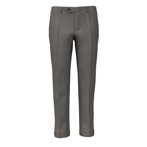 Pantaloni Grigi Pied de Poule Cashmere Tessuto prodotto da  Drago